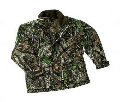 Age 8 Deerhunter Oscar Waterproof Camo Childrens Shooting Jacket Coat Waterproof